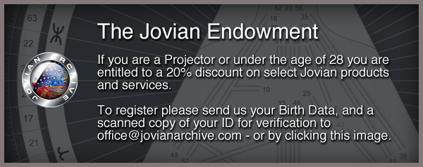 Get my Human Design Projector Discount on Jovian Archive