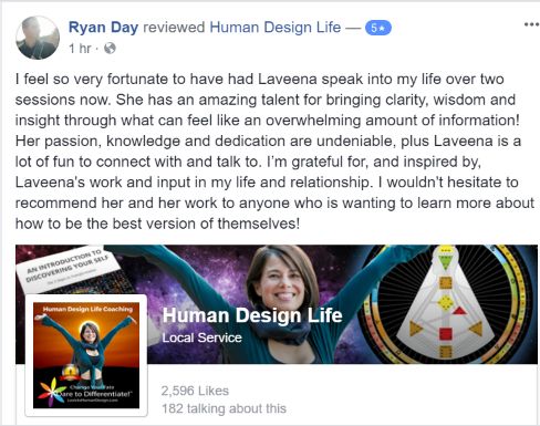 Human Design Life and Relationship Coaching