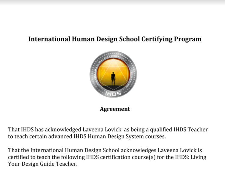 Living Your Design Guide Certification — Human Design Certification ...