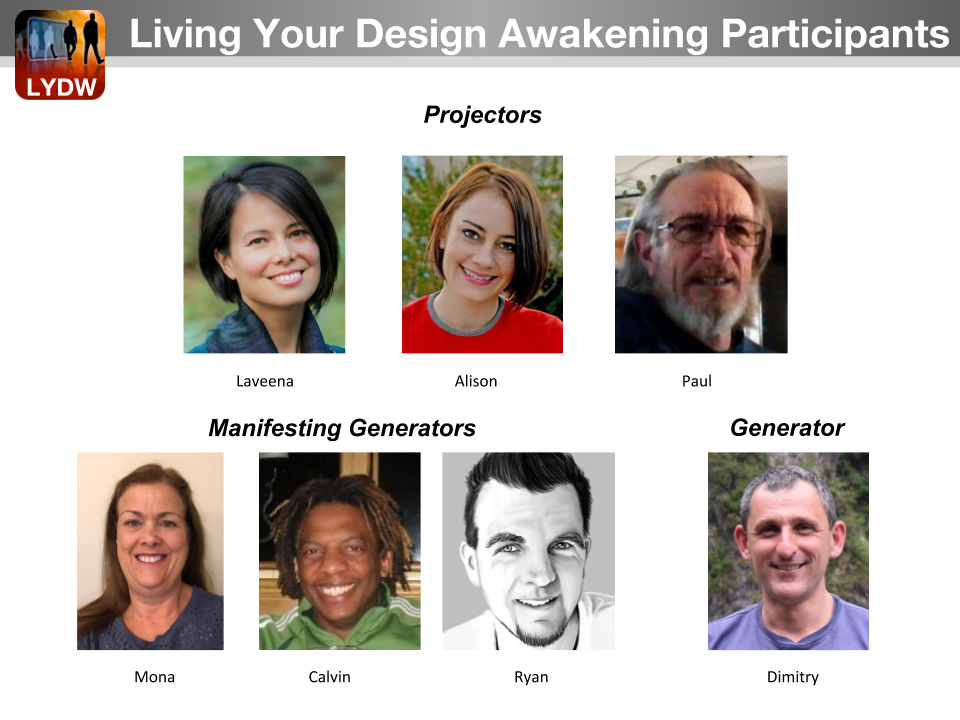 Living Your Human Design Awakening Students