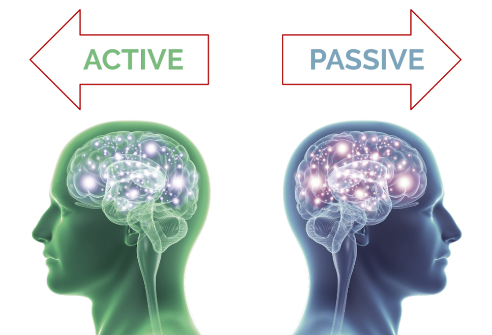 Do you have an active brain, which needs regular nourishment and more food, or a passive brain, which needs less?