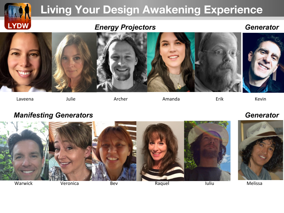 Living Your Design Awakening Experience