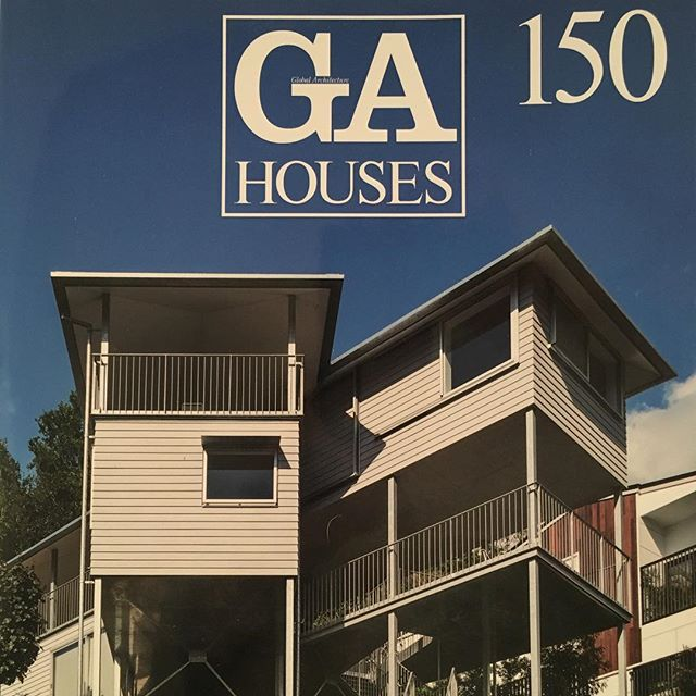 Excited to see Brisbane feature so predominantly in GAHouses 150. Phorm is extremely proud to see Brisbane's blue skies frame House at Hamilton on the cover! @yoshio_futagawa @yo_shimada @mcd_constructions @bluecheak @marvelconstructions @folio_books  http://www.ga-ada.co.jp/English/ga_houses/gah150.html www.phorm.com.au