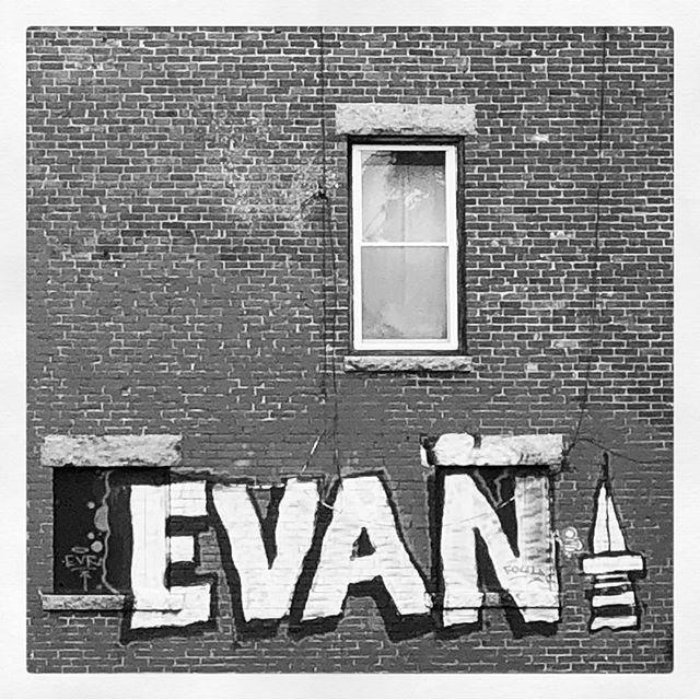 #evan  #tagged  #graffiti  #inkwell  #bewell #portlandmaine