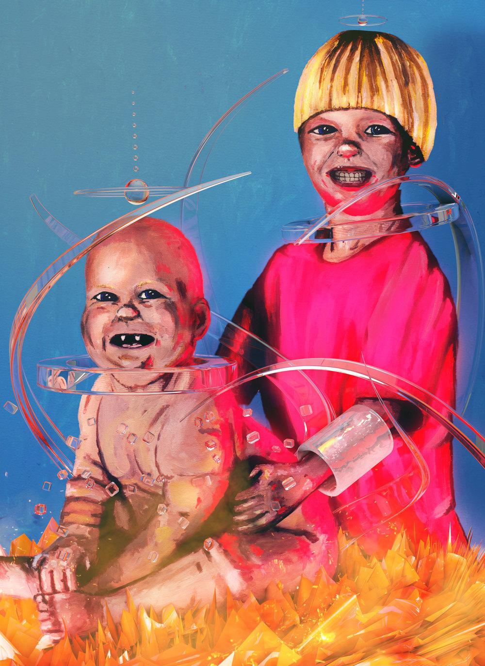 Neon Babies in Hell