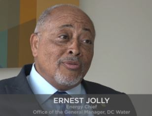 AEG Podcast conversation with Ernest Jolly, Energy Chief, DC Water