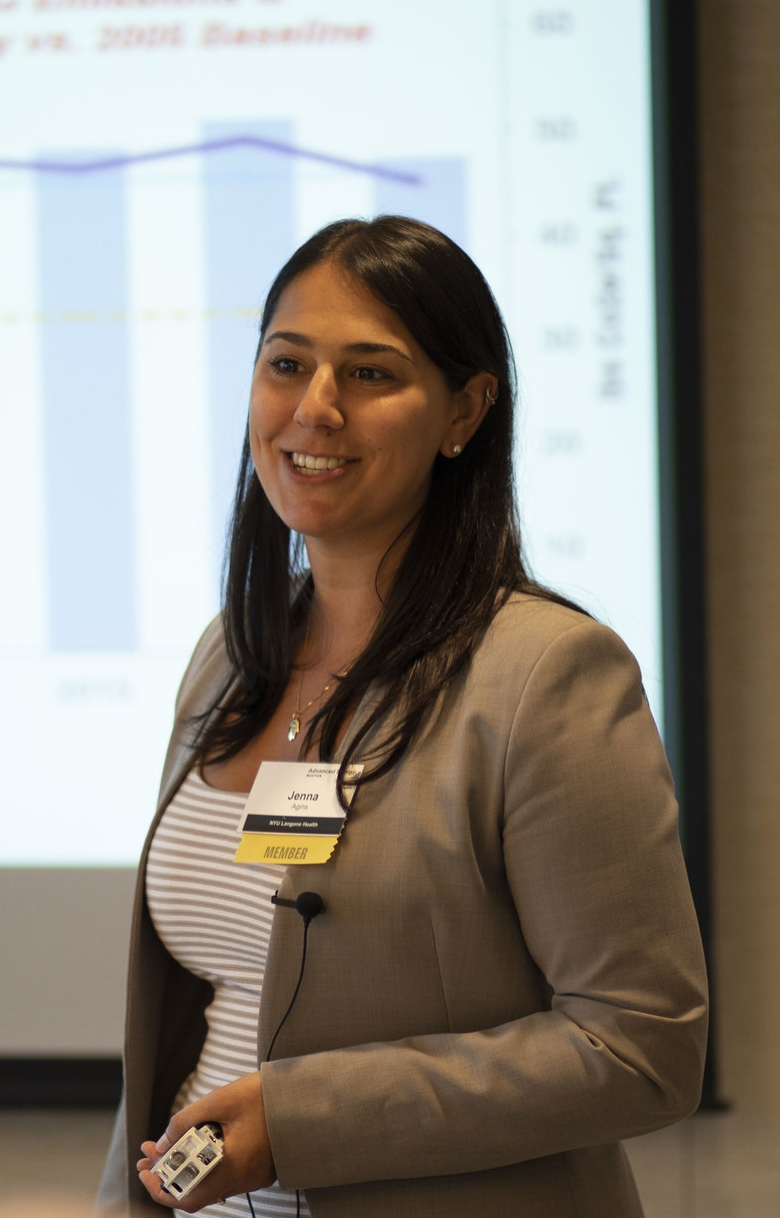 Jenna Agins, Energy & Sustainability Manager, NYU Langone Health