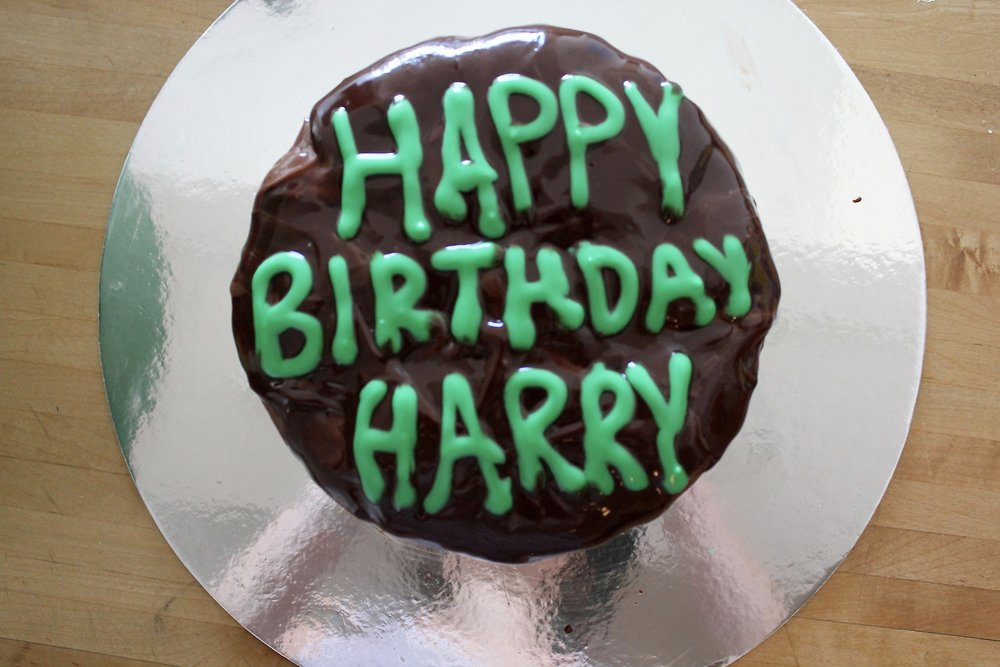 Hagrids 11th Birthday Cake For Harry Harry Potter And The