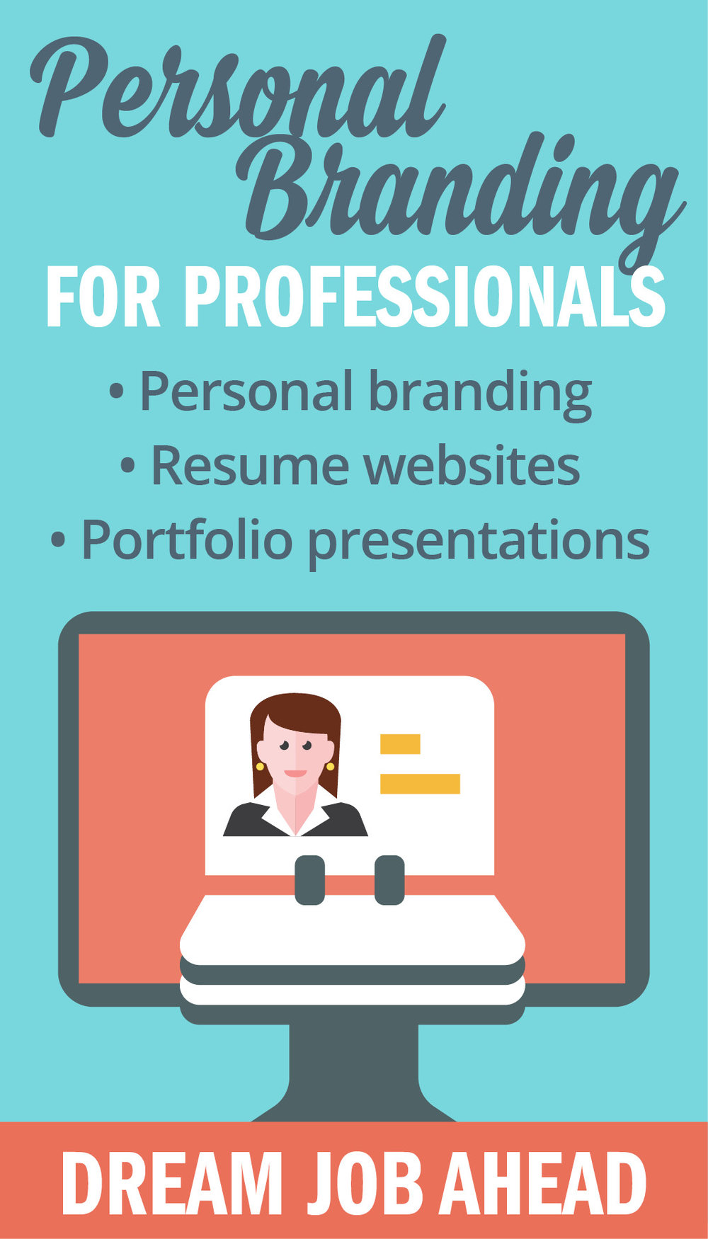 Personal branding and resume websites for career building by Bonnie Summerfeldt – graphic designer and web designer