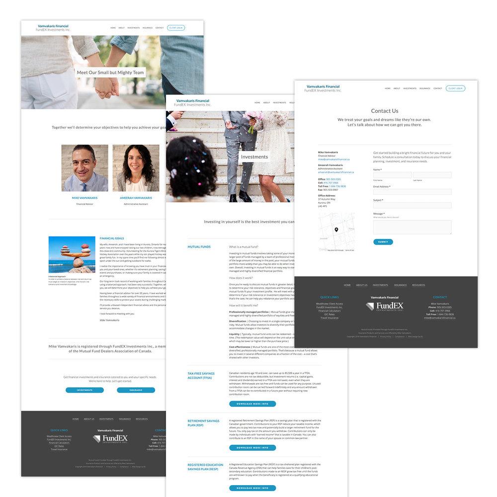 Aurora Newmarket financial planner website design.jpg