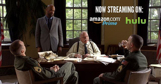 Hello MOV fanatics! Starting today the movie you know and love will be streaming FREE on Amazon Prime and available on demand from Hulu!!! Yes, you'll now be able to watch your favorite moments of Medal of Victory over and over until you're quoting Floyd and Stu in your sleep. Huzzah! Link in bio. #indiefilm #filmmaking #independentfilm