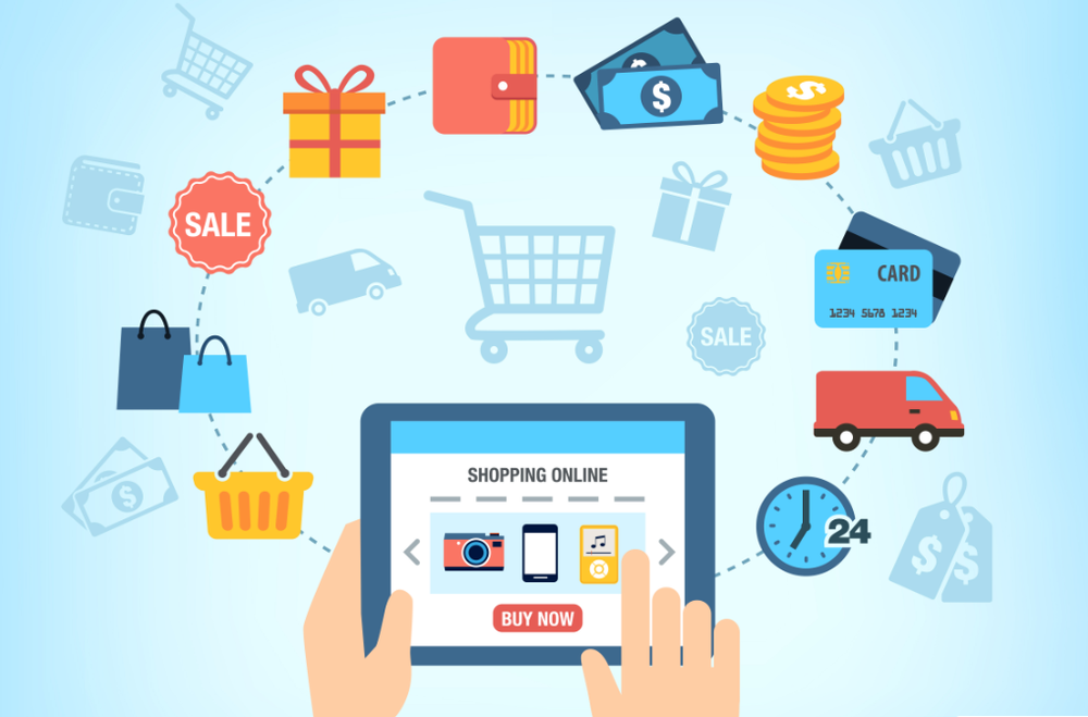 E-Commerce - E (Electronic) - Commerce means business trading through the internet. For businesses, E-Commerce is a much more cost effective than traditional commerce methods. Worldwide, E-Commerce is expected to grow as much as 13 to 25 percent in 2018. Selling your product to the world as easy as it's ever been. Now need to think
