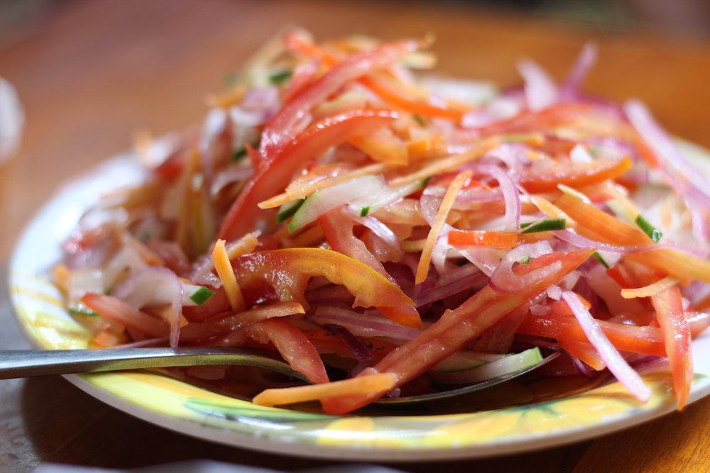 Kachumbari Salad