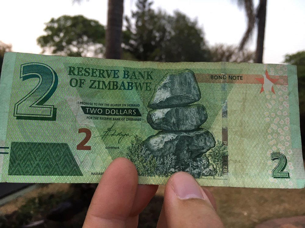 The bond notes.