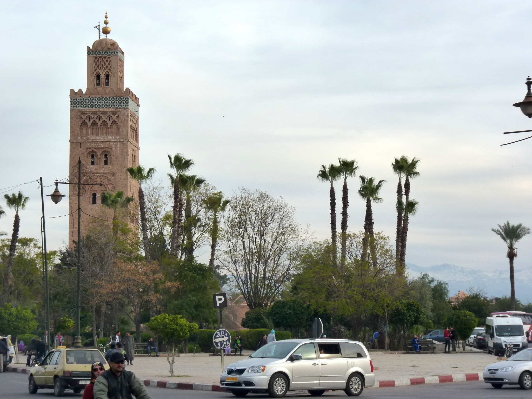 The Grand Koutoubia Minaret in Marrakesh