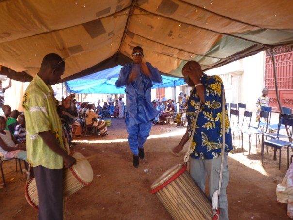 wedding celebration in Mali
