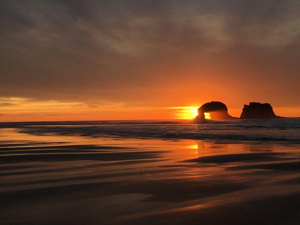 Gorgeous Oregon Sunset, November 2017