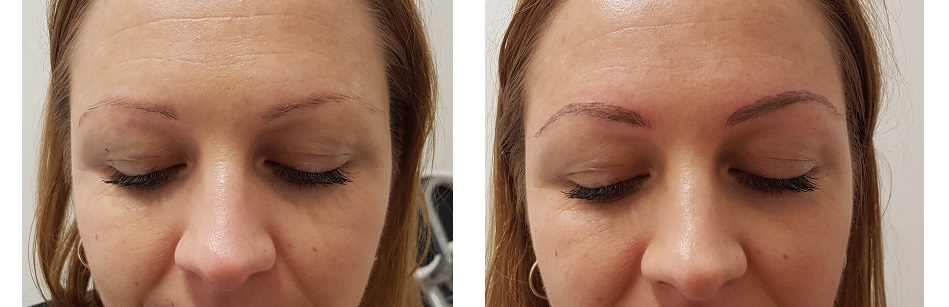 The Look Studio, Melbourne Eyebrow Feathering Tattoo