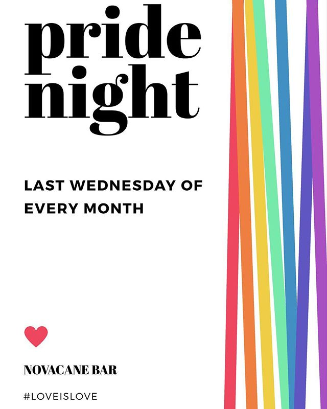 🌈 Starting July 26th. ✨ Stay tuned for our special creations! #novacane #novacanebar #huntingtonpark #losangeles #drinklocal #loveislove #lgbt #lgbtq #pride #pridenight #craftbeer #cocktails #vegetarian #vegan