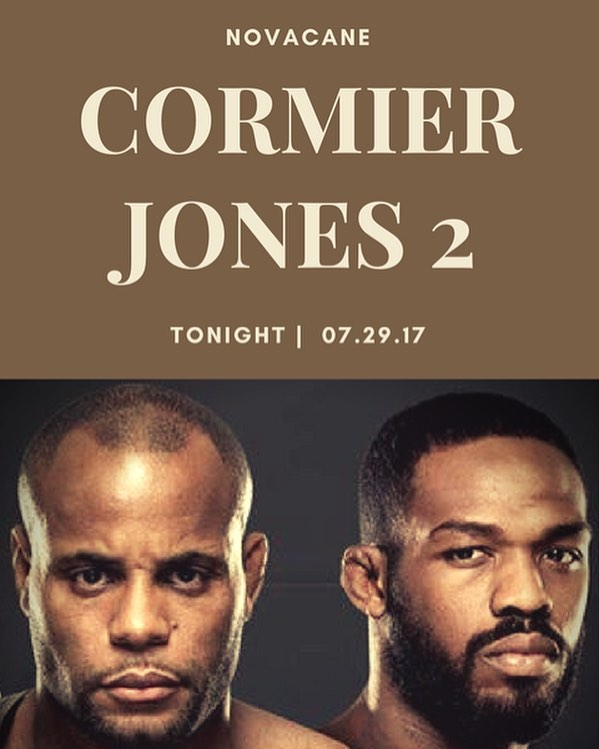 Come watch the Cormier VS Jones fight tonight! As always no cover charge✨👌🏻 Doors open at 4!