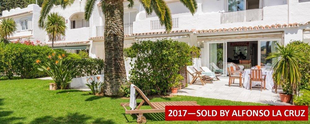 town house for sale peñablanca nueva andalucia marbella