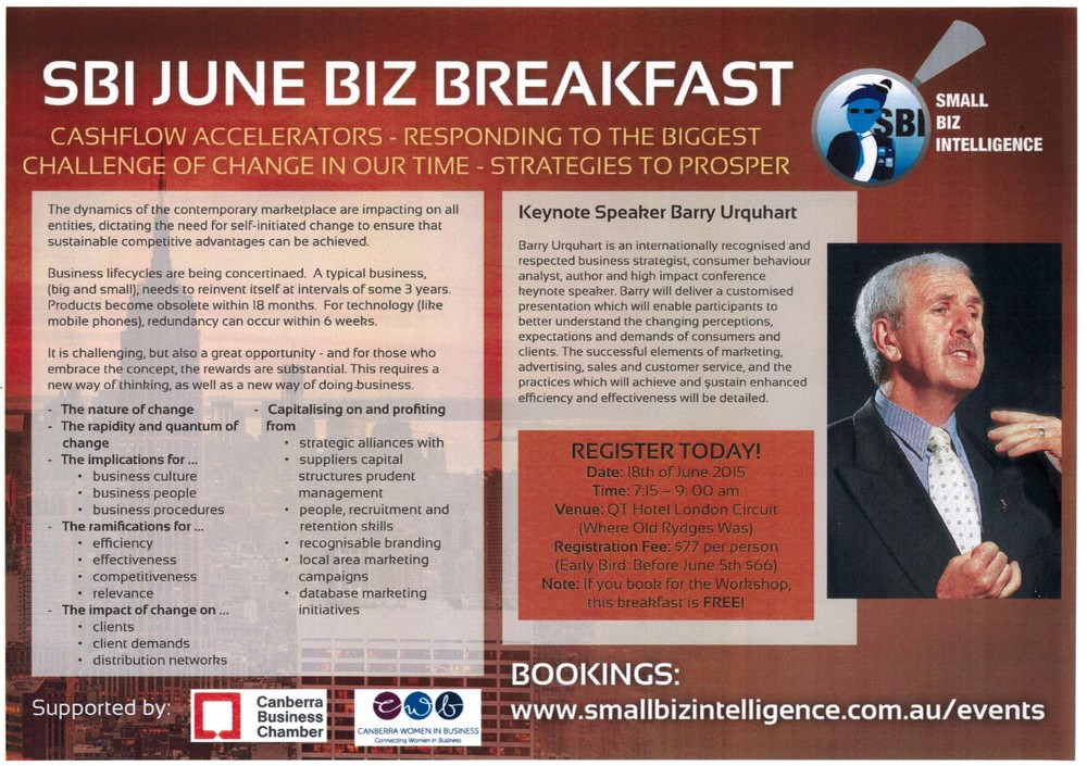 SBI June BIZ Breakfast