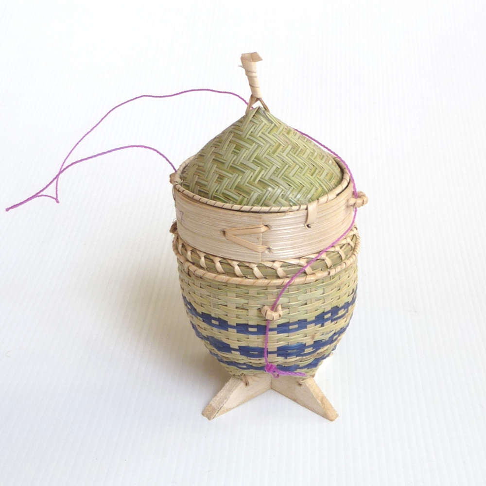 Mini sticky rice basket