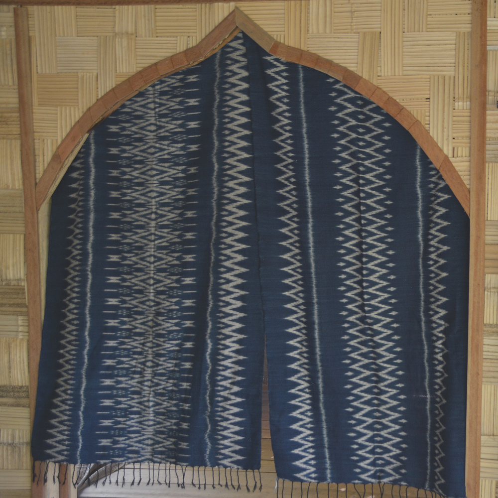Ikat weave table runners/wall hangings