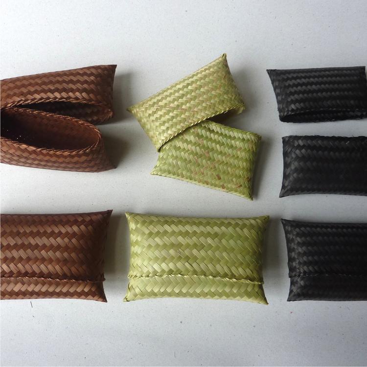 Pochettes en bambou