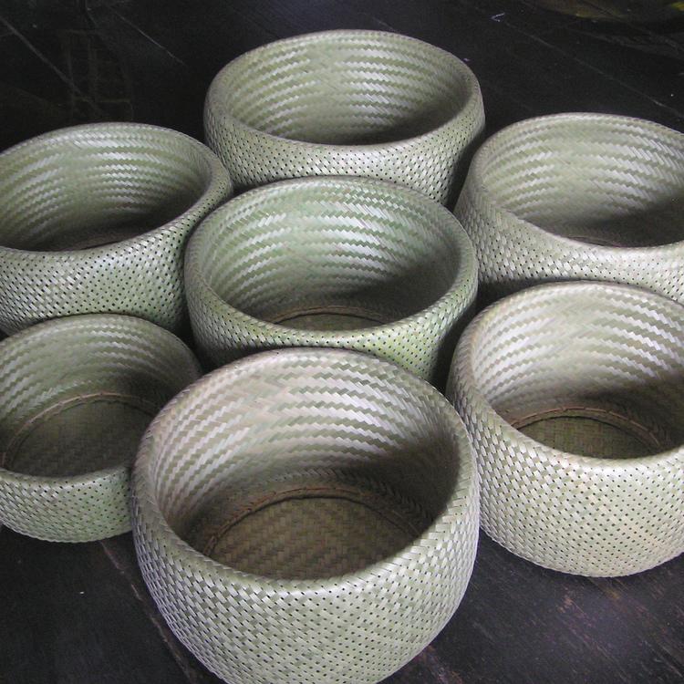 Bols de bambou