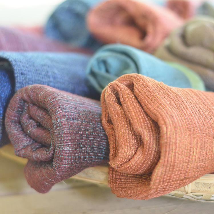 Écharpes épaisses en soie