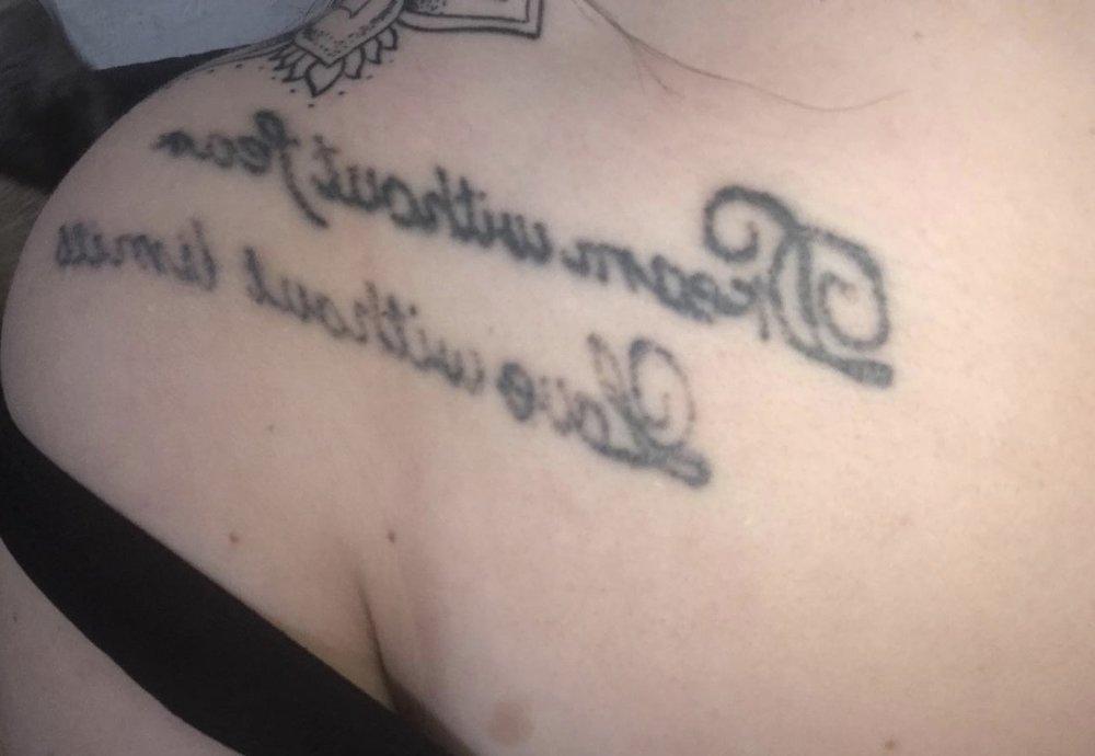 tatoeage na 2 behandelingen