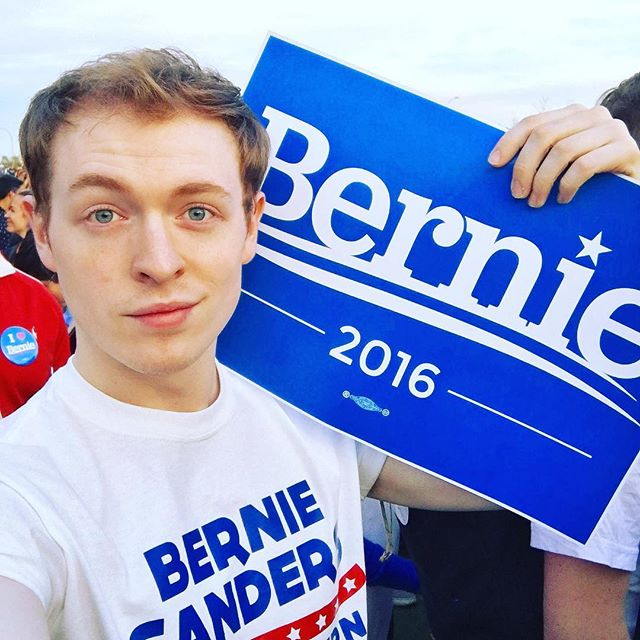 Long Island City Bernie Sanders rally. #newyork #feelthebern #vote #berniesanders @menwhobern
