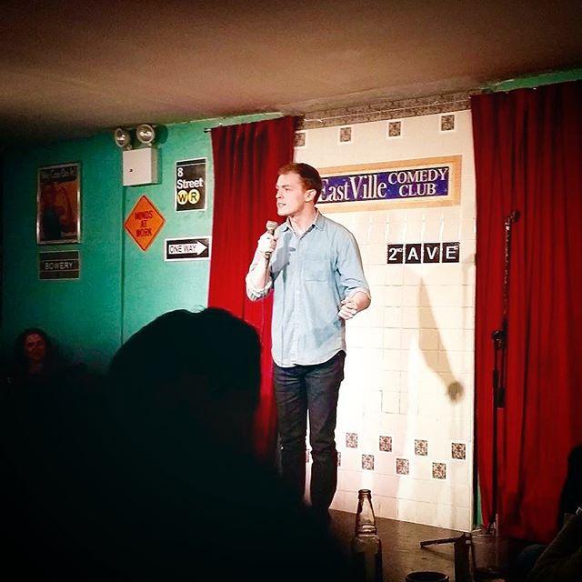 hot mic @eastvillecomedy #comedy #standup #newyorkcity #eastvillage