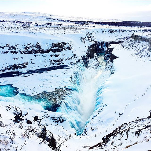 #waterfall #adventures in #Iceland at the #goldencircle
