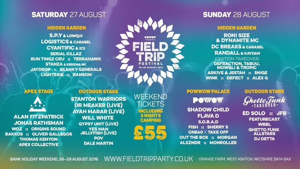 Field Trip Festival 2016 - Yes Man Jellyfish