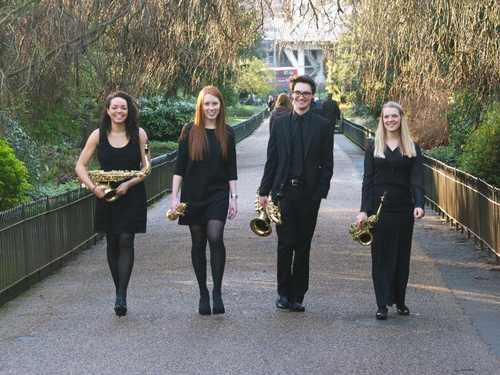Laefer Quartet, photograph by Chris Mothersole at SoundAndOptics Photography.
