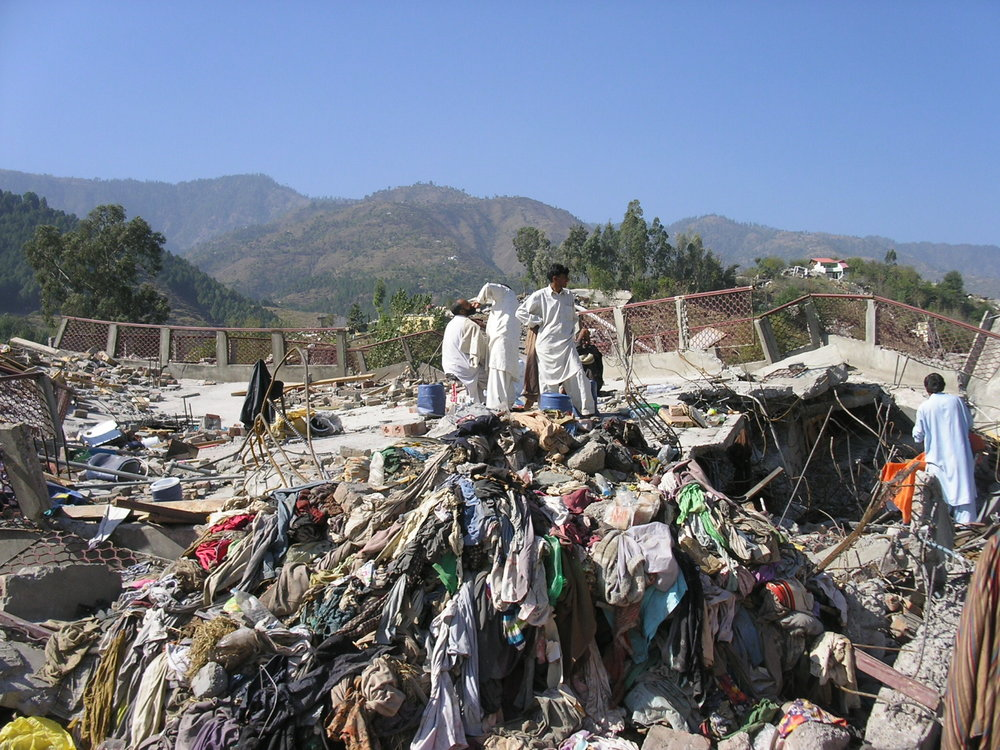 Balakot, Pakistan - photo taken after the Kashmir earthquake of 2005.
