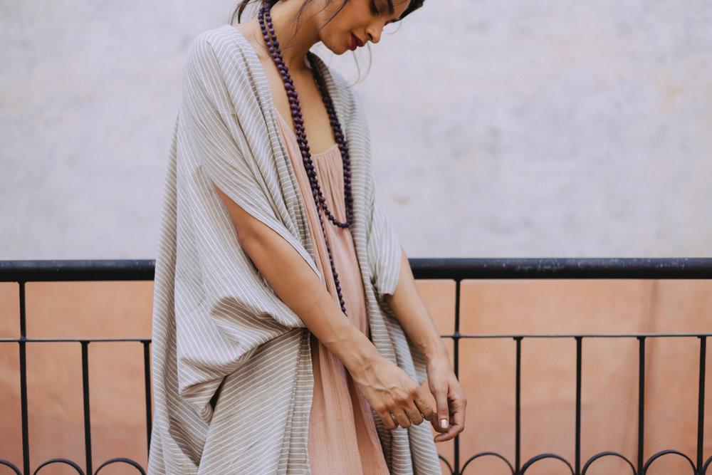 Khadi Cotton Dune Robes -
