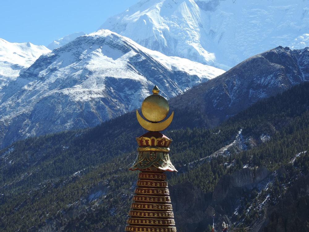 View across Annapurna Range