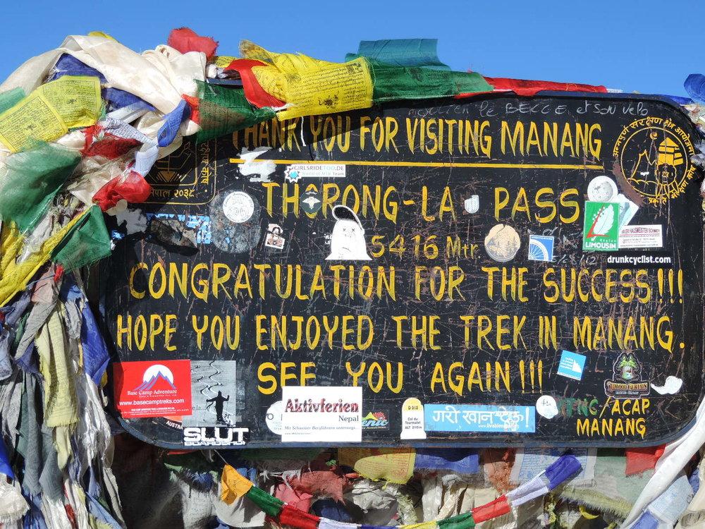 Thorong La Pass, Mountain Pass