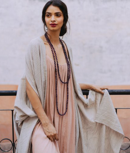 Khadi cotton robe jewelled Buddha.png