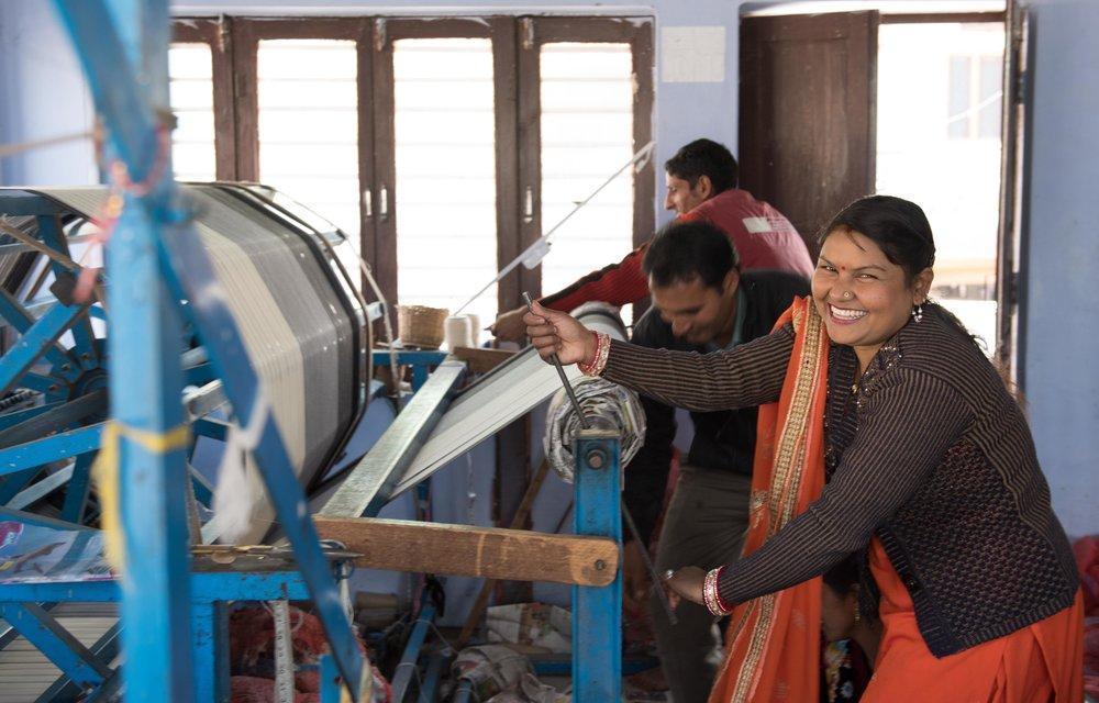 Sadhana - weaver