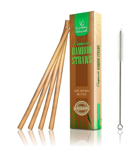Eco-friendsly bamboo straws