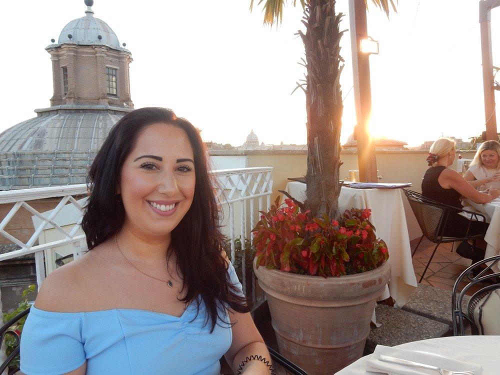 Rachida in Rome.JPG