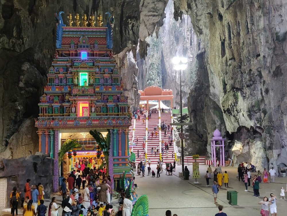 Inside the Temple Cave - Batu Caves