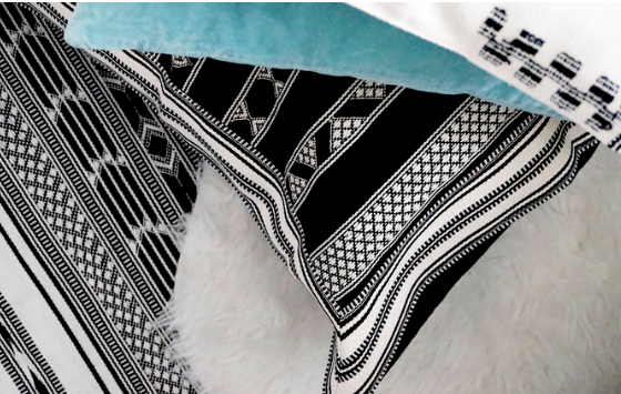 Black & White Border cushions cover. picture 5.png