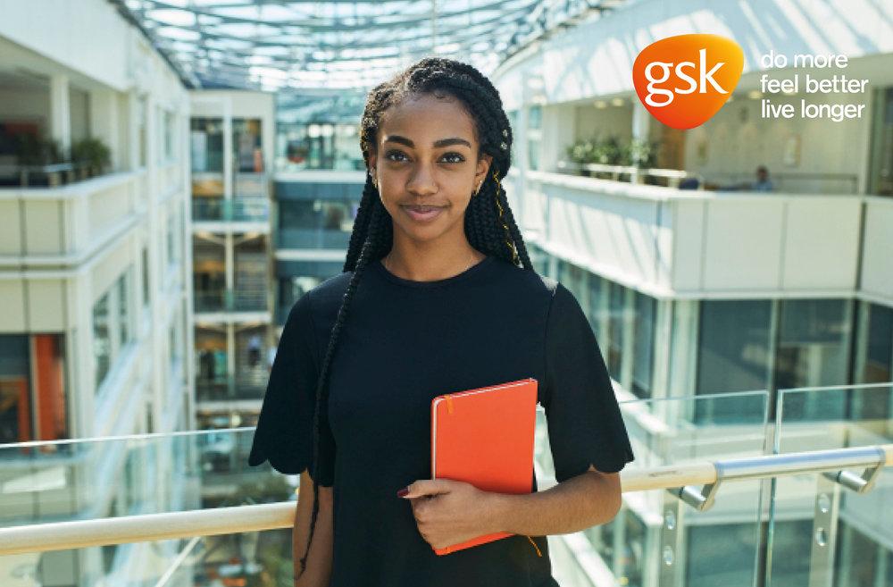Client - GSK | Agency - Wiser | Description - Portraits for GSK's graduate training programme for future leaders.