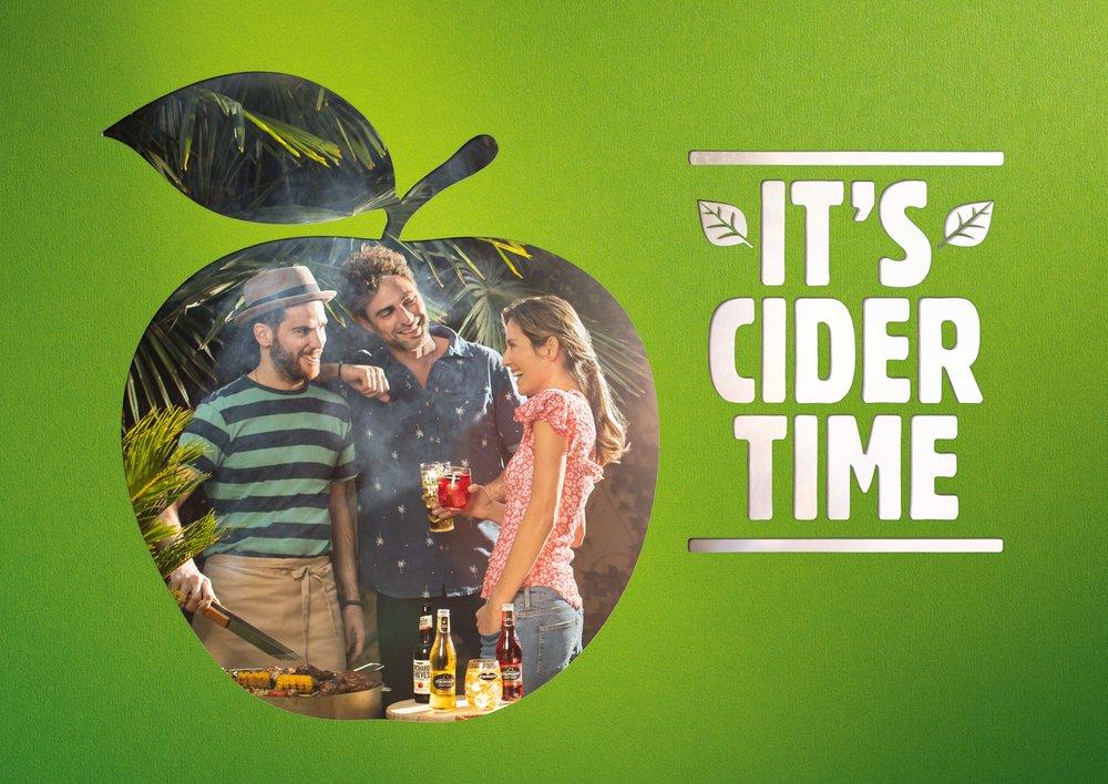 Client - HNK Ciders | Agency - Publicis | Description - EU Print Campaign for emerging markets.