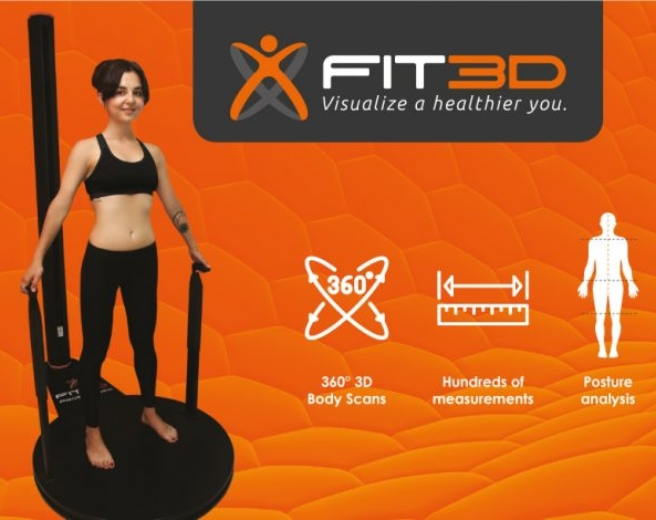 - THE FIT 3D PROSCANNER produces a multitude of personal, biometric data in just 40 seconds:Weight & Body Composition AssessmentBody Fat PercentageFat Mass vs Lean Mass RatioBasal Metabolic Rate (BMR) Full Body Posture Analysis Balance AssessmentBody Shape Wellness Rating